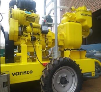 Дизельная вакуумная установка Varisco JD 6-250