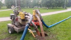 Перекачка больших объемов воды